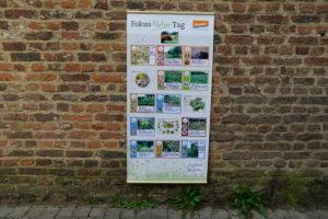 Das Resultat: Unser Plakat vom Fokus-Natur-Tag